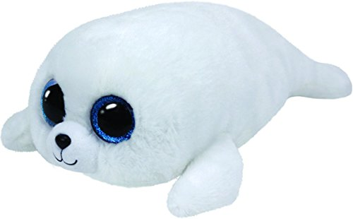 Beanie Boo Seal - Icy - White  - 42cm 16""