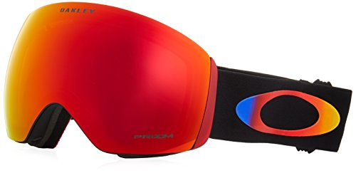 Oakley maschera da sci flight deck unisex da adulto, prizm halo 2018/prizm snow torch iridium.