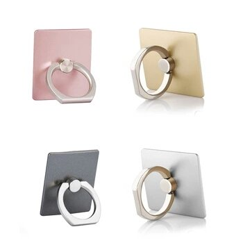 Mkart Fashion Beauty & Luxury 360 Degree Finger Ring Smartphone Stand Holder