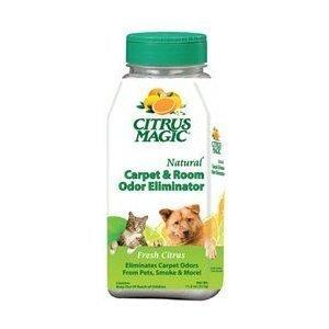 Citrus Magic Carpet and Room Odor Eliminator Shake Container, 11.2 oz (317g) (Pack of 4) by CITRUS MAGIC