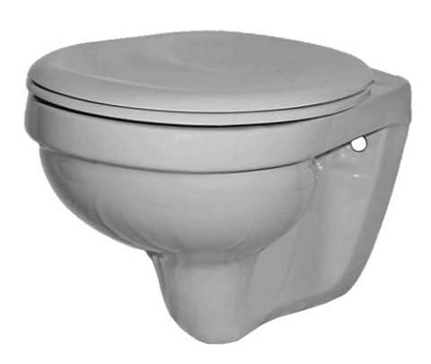 Gustavsberg Saval Tiefspüler WC Toilette manhattan grau by Villeroy und Boch