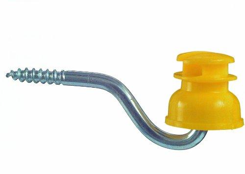 Schlitz Isolator für Weidezaun, Typ S 151 - 50er Beutel / gelb