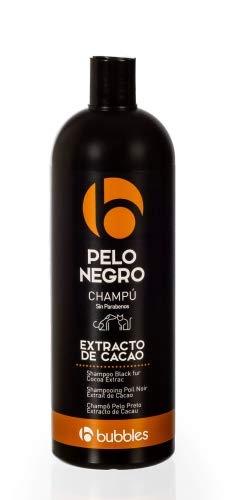Bubble's Hundeshampoo mit Kakaoextrakt für schwarzes Fell (1000 ml) -