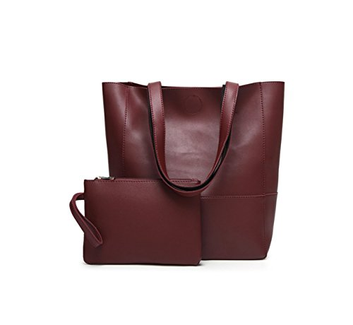 La Signora Borsa Tracolla Messenger Bag Tote Red