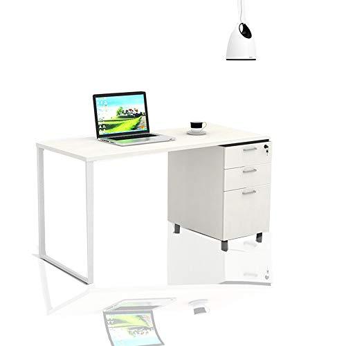 Schreiben Home Office Computer Desk, mit 3 Datei Schublade, Computer Desk, Extra Large Computer Desk Workstation Computer Schreibtische, Executive Office Stehtisch, 55