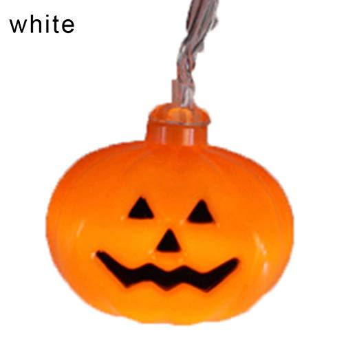 se/Ghost/Spider/Schädel 10 LEDs Licht Lampe Halloween Party Dekor - ich ()