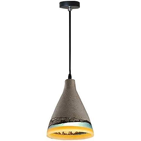 BJVB Singolo legare cemento lampada lampadario Lampada da soffitto lampada D175 * H200MM