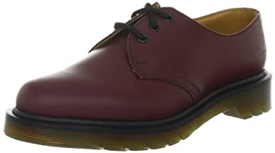 Dr. Marten's 1461 3 Eyelet, Unisex-Adults' Lace-Up Flats, Cherry Red, 3 UK (36 EU)