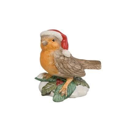 Goebel Zwitschernder Winterbot, Bird, Decoration, Figure, Porcelain, 66701376