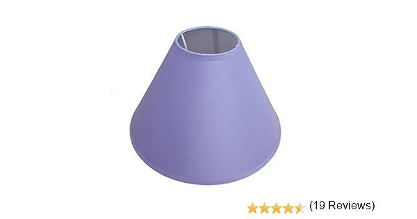22,9/cm Suspension au plafond lampe de table Abat-jour Couleur principale Lilas