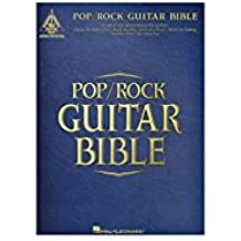 Tablatures guitarras Recueil canciones Pop/Rock Guitar Bible Tab
