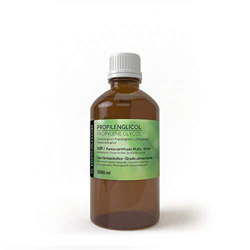 Propilinglicol usp - purezza certificata - 1 litro - pg base