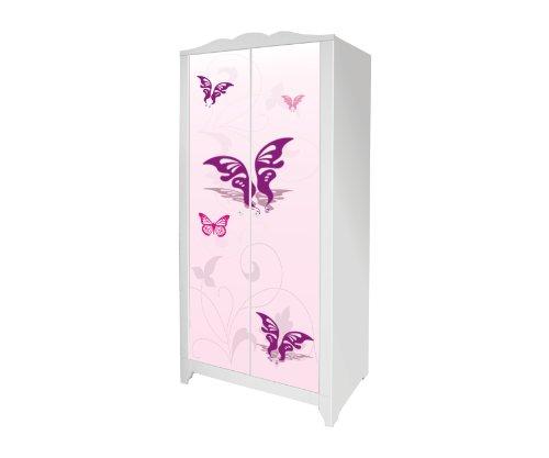 Pink-World Möbelsticker / Aufkleber für den Kinderschrank HENSVIK von IKEA - IM117