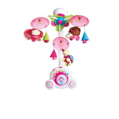 Tiny Love Giostrina Soothe'n Groove Princess Carillon Culla per Bebè Neonato