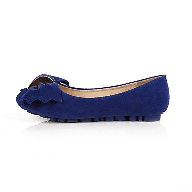 Confortevole ed elegante piatto scarpe donna Flatsl Comfort / punta chiusa / Appartamenti Casual tacco piatto BowknotBlack / blu / giallo / rosa / Pink