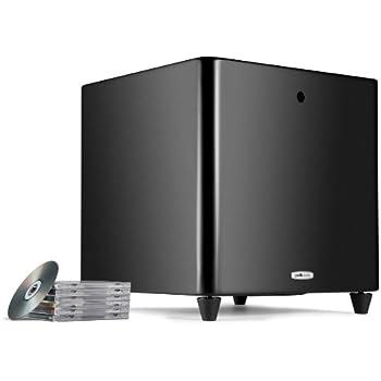 Polk Audio DSW Pro 660 Subwoofer (12 Zoll), schwarz