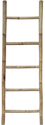 Echelle porte-serviettes en bambou 150cm