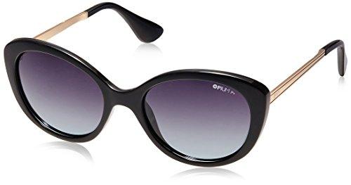 d5f96127bbfc Opium Polarized Cat Eye Women Sunglasses Op 1357 C04 54 Smoke Lens Op 1357  C04