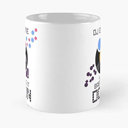 Science Music Dj Enzyme Breaking It Down - Best Gift Coffee Mugs 11 Oz
