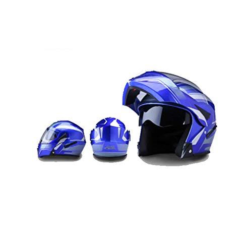 Preisvergleich Produktbild Helm Motorrad,  männer - elektrischen lokomotiven,  Weibliche Anti - Fog,  Four Seasons,  Doppel - Spiegel,  k