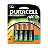 Duracell Rechargeable AA NiMH Batteries ...