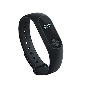 Xiaomi Mi Band 2 Fitness Smartband, Pulsera de actividad, con monitor de ritmo cardíaco, color Negro