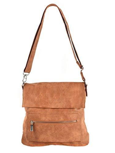Bag Street - Bolso hombro mujer marrón cognac marrón