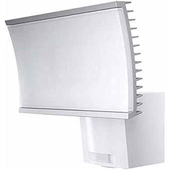 osram os917996 projecteur led d 39 ext rieur avec d tecteur de mouvement plastique 23 w blanc. Black Bedroom Furniture Sets. Home Design Ideas