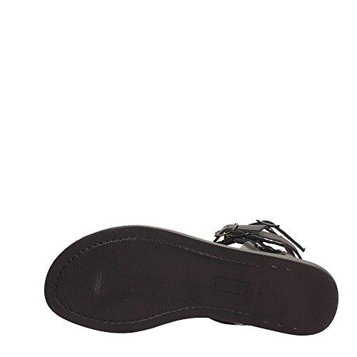 Lumberjack SW31506-002 B01 Sandalo Donna Nero