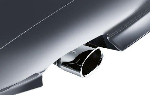 BMW Genuine Exhaust Tailpipe Tip Cover Trim Chrome (82 12
