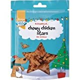 Good Boy Chewy Chicken Stars Christmas Dog Treat