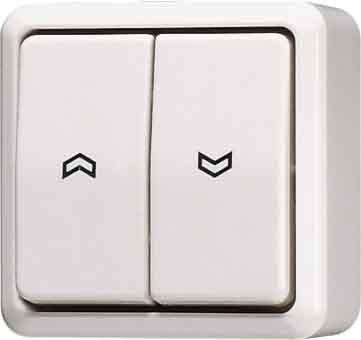 Preisvergleich Produktbild Jung 609VA Jalousie-Wippschalter Schalter, 1-polig