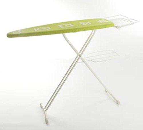 Table à repasser Gaspard avec housse de couleur Vert ou Gris (selon arrivage)-PEGANE-