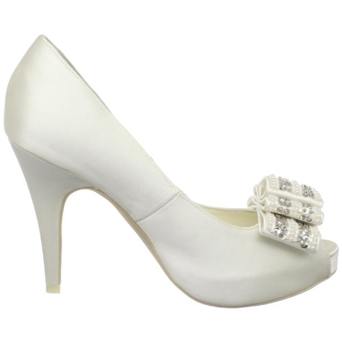 Menbur Wedding Auxi 04322, Escarpins femme Blanc cassé-TR-AF