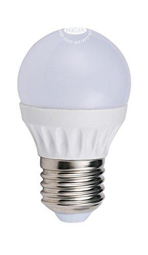 LED FACTORY 5W E27 G45 LED Lampe, Ersatz für 50W Glühlampen, 400lm, Warmweiß, 2800K, 270° Abstrahlwinkel, LED Birne, LED Leuchtmittel