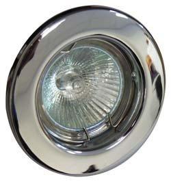 10-X-Downlight-GU10-240V-Chrome-Light-Fitting