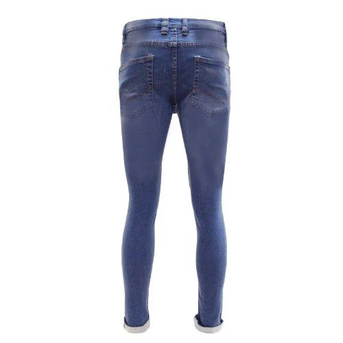 D'Struct D'Cassetto Prime Jean pour homme Bleu - Denim Mid Wash