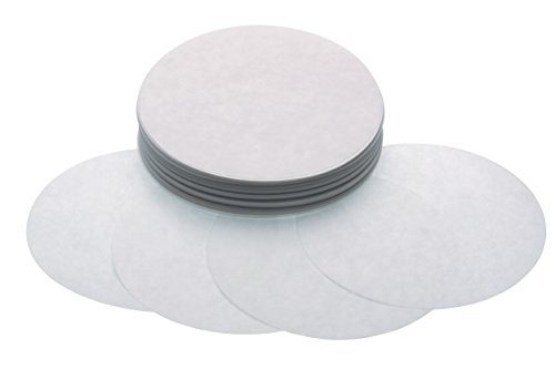 Kitchencraft Papeles para Maquina de Hamburguesas, Blanco, 1 cm