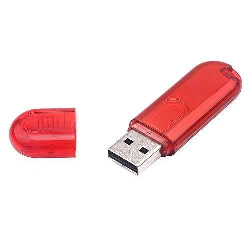 Tonsee 4GB/8GB/16GB/32GB/64GB/128GB USB 2.0 USB Mode Form Flash Laufwerk Speicher Daumen Stick schieben (4GB, Rot)