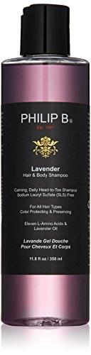 PHILIP B Lavender Haar und Körper Shampoo 3, 1er Pack (1 x 350 ml)