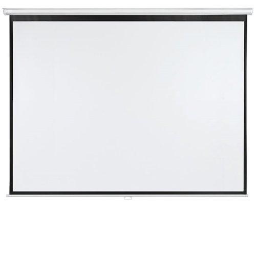 Preisvergleich Produktbild Franken LWR22418 Rolloleinwand X-tra beschichtetes Gewebetuch (240 x 180 cm)