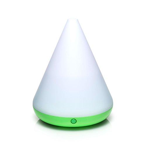 Pajoma 44705 Diffuseur aromatique Arrakis Green, avec Changement de Couleur LED, Hauteur 18,5 cm