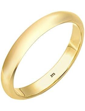 Elli Premium Damen Stapelring 375 Gelbgold