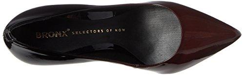 Bronx - Bx 1245 Bcotex, Scarpe col tacco Donna Schwarz (Ruby/Black)