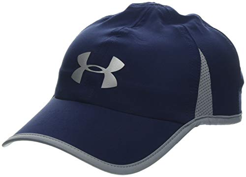 Under Armour, Men'S Shadow Cap 4.0, Cappellino, Uomo, Blu (Midnight Navy/Steel/Reflective 410), Taglia unica