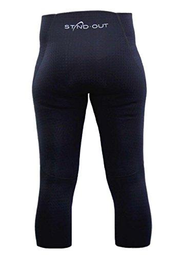 Standout SUP Pantalon néoprène capri 3/4 short Femme, Taille:XS