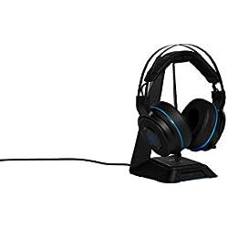 Razer Thresher Ultimate - Casque Gaming Headset Sans Fil pour PlayStation 4 - Dolby Headphone avec Son surround 7.1, Connexion sans Fil et Coussinets d'Oreille Légers en Similicuir