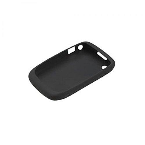 Blackberry Silikonhülle Silikoncase Silikon case Tasche Cover ACC-24211 für Curve 8520, 8530, 9300, 9330 schwarz - Blister