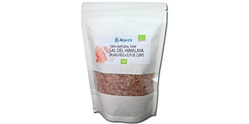 Alcavida - Sal rosada del Himalaya gruesa 500g
