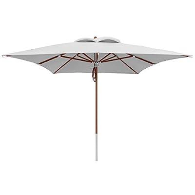 anndora® Sonnenschirm Deluxe 3 x 4 m und 4 x 4 m eckig UV-Schutz Farb- und Größenwahl von anndora-sonnenschirm.de - Gartenmöbel von Du und Dein Garten